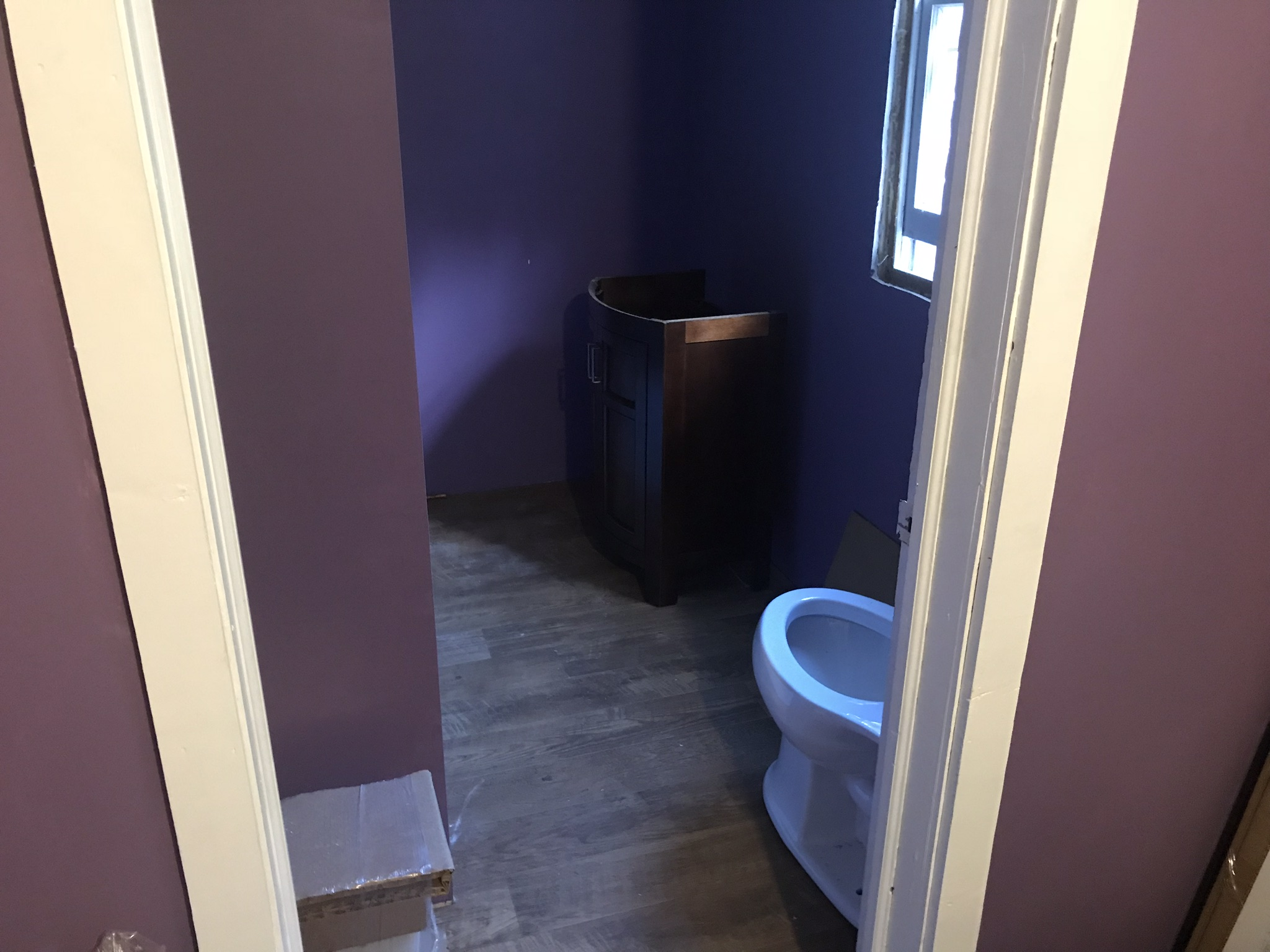 Basic arrangement pre-plumbing