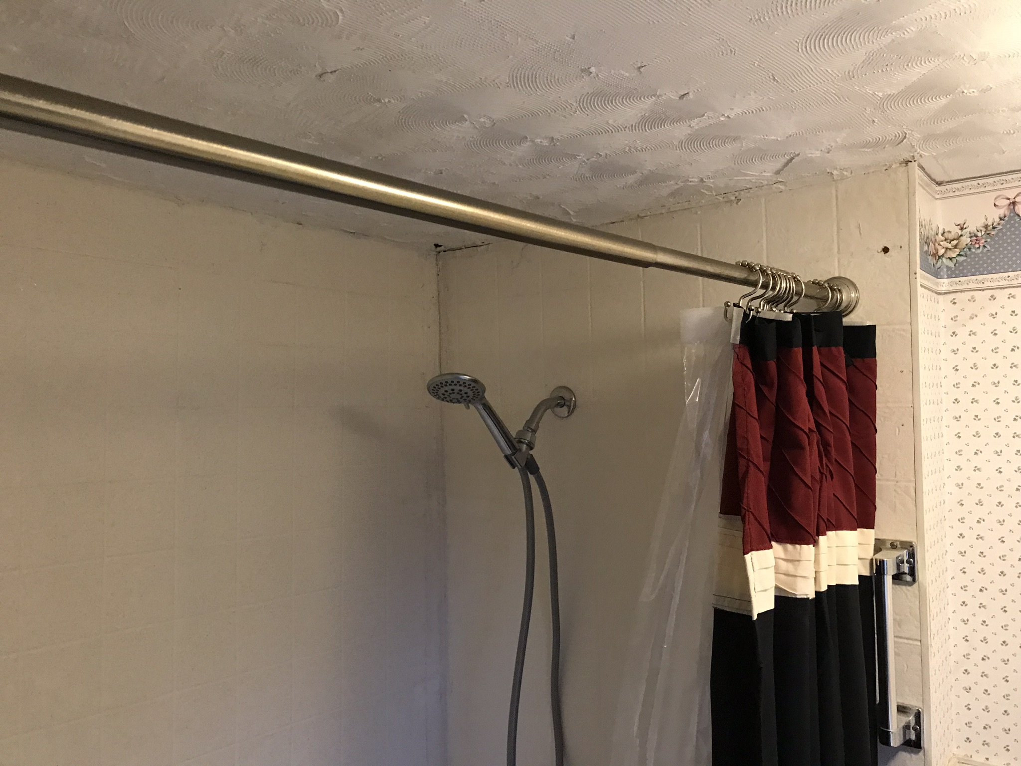Shower starting point