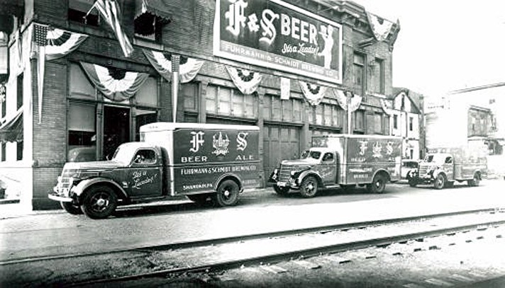 An F&S Beer Delivery truck. Image from http://www.shamokin57.com/fs.htm